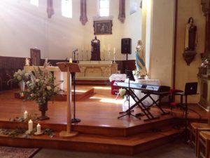 Blue Boca cérémonie religieuse